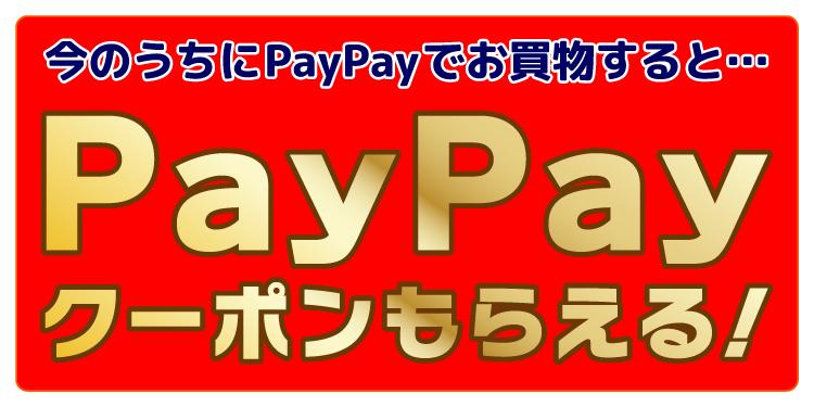 今のうちにPayPayでお買物すると…PayPayクーポンもらえる!